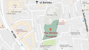 Zobacz na mapie gdzie znajduje się Plac